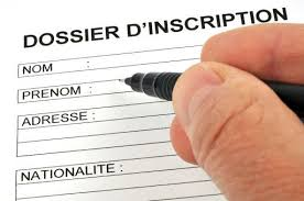 Dossier d'inscription